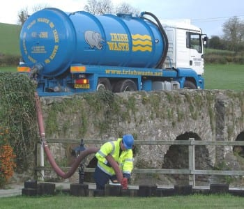 Industrial septic tank and cess pool cleaning