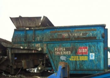 Secure industrial shredding services