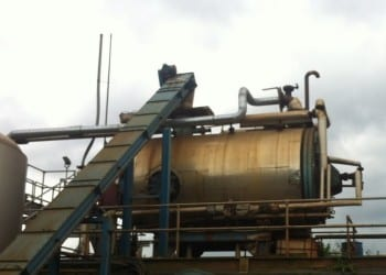 Thermal drying plant
