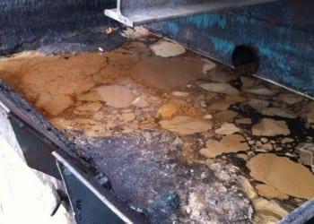 Oil spillage clean up
