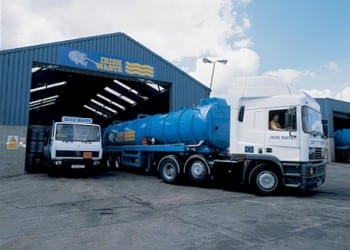 Hazardous liquid waste removal and transportation