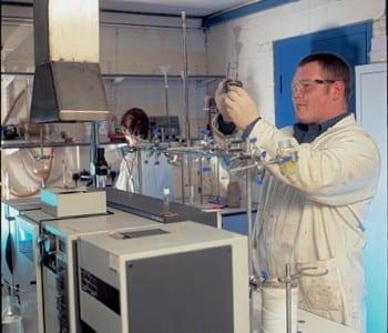 Laboratory waste treatment