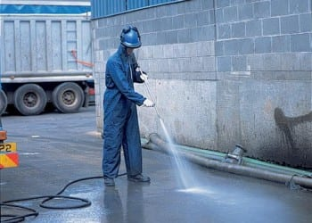 Vehicle wash and silt trap cleaning